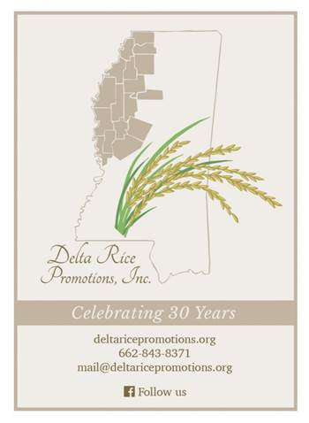 Delta Rice Promotions Celebrating 30 Years graphic